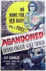 Abandoned 1949 DVD - Dennis O'Keefe / Gale Storm